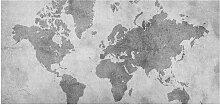 home24 Tableau magnétique Carte du monde II