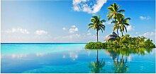 home24 Tableau magnétique Paradis tropical