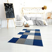 home24 Tapis enfant Checkerboard