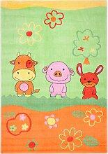 home24 Tapis enfant Mamba Animals