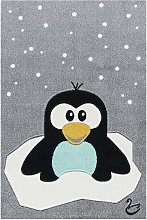 home24 Tapis enfant Pingouin Elliot