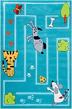 home24 Tapis enfant Small & Hungry