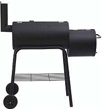 HOMECALL - Barbecue portable, noir