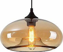 HomeLava Lustre Suspension en Verre Lampe
