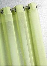 HomeMaison HM6957488 Bambou Rideau en Étamine