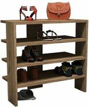 Homemania armoire à chaussures mix 63,6x31,8x60