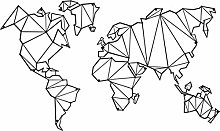 Homemania Décoration murale Motif carte du monde