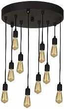 Homemania - Lampe a Suspension Fallby - Plafonnier