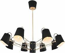 Homemania - Lampe a Suspension Terebra Chandelier