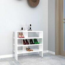 Homemania Meuble à Chaussures Mix Compacte - avec