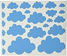 Homemania Sticker en Vinyle Bleu