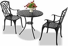 Homeology OSHOWA Table d'extérieur en fonte