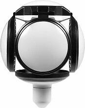 Hommoo - 8 PCS LED Garage éclairage forme de