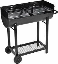 Hommoo - Barbecue à charbon Texas HDV26170