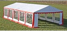 Hommoo Chapiteau 10 x 5 m Rouge HDV06755