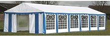 Hommoo Chapiteau 12 x 6 m Bleu HDV06756