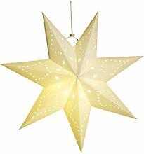 Homoyoyo Abat-Jour Lanterne Étoile en Papier