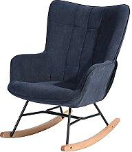 HOMYCASA Chaise à Bascule Chaise à Bascule en