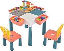 Honganrunli Table pour enfant avec ensemble de