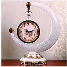 hongbanlemp Pendulettes de Bureau Horloge de