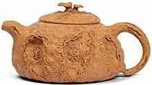 HongTeng-Pots en céramique Théière à la Main,