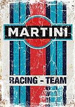 HONGXIN Réplique de plaque en métal Martini