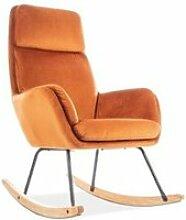 Hoovet - fauteuil à bascule rembourré -