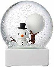 Hoptimist 91001-10 Boule à Neige en Verre avec