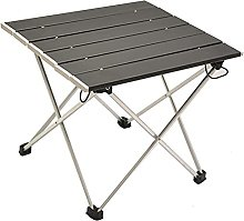 horityau Table de camping pliante en aluminium