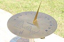Horizon D40 Horloge solaire en laiton