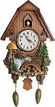 Horloge à Coucou Artisanale, Horloge Antique de