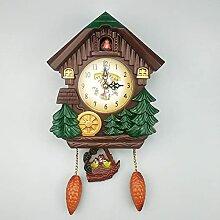 Horloge à Coucou de Quartz, Horloge Murale Coucou