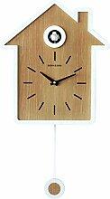 Horloge à Coucou, Design de Style Nordique Simple