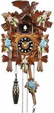 Horloge à coucou en bois véritable - Pendule à