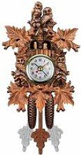 Horloge à coucou en bois Vintage horloge à