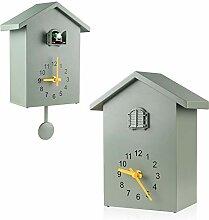 Horloge à coucou murale - Voix d'oiseau