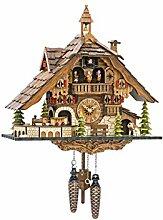 Horloge à Coucou Quartz en Forme de Maison de la