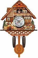 Horloge à Coucou Traditionnelle de Style forêt