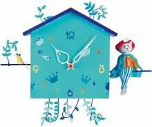 Horloge Alabonneheure Le Chat Botté