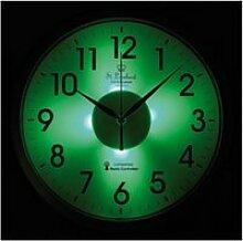 Horloge avec affichage phosphorescent