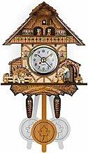 Horloge Chalet Coucou, Horloge Murale Décoration