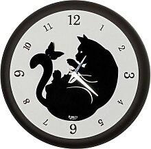 Horloge Chat Bombè 3222C25 Arts et Métiers