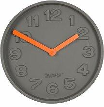 Horloge Concrete Time orange