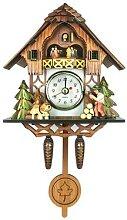 Horloge coucou en bois horloge coucou forêt noire