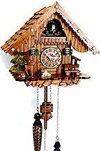 Horloge coucou en bois véritable de la Forêt