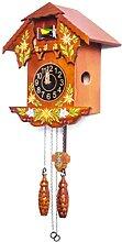 Horloge Cuckoo, Bois fabriquée à la Main Horloge