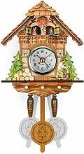 Horloge de coucou nordique horloge murale horloge