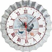 Horloge de cuisine oeufs frais 25.5cm