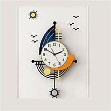 Horloge de Cuisine Salon Décoration Mur Horloge