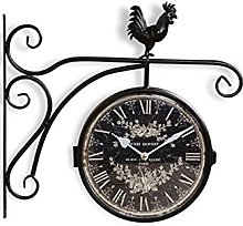 Horloge De Gare Ancienne Double Face Henri Dupont